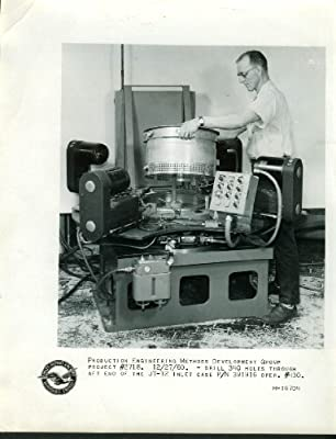 Pratt & Whitney Aircraft JT-12 Inlet Case Hole Drilling photo 1960