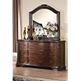 Coaster Home Furnishings Maddison 9-Drawer Dresser Cappuccino (Tamaño: 68