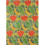 Birds & Poppies textile design, by Voysey (Print On Demand)