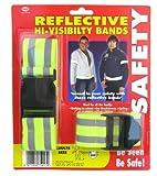 Silver Bullet Trading Running Jogging Cycling Reflective Hi Vis High Visibility Safety Belt & Armband