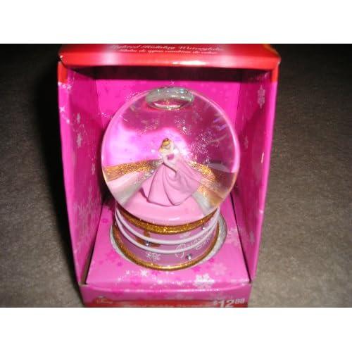 Disney Princess Cinderella Lighted Holiday Waterglobe