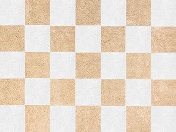 aratextil tapis en 100 100 coton lavable en machine collection damero damero beige. Black Bedroom Furniture Sets. Home Design Ideas