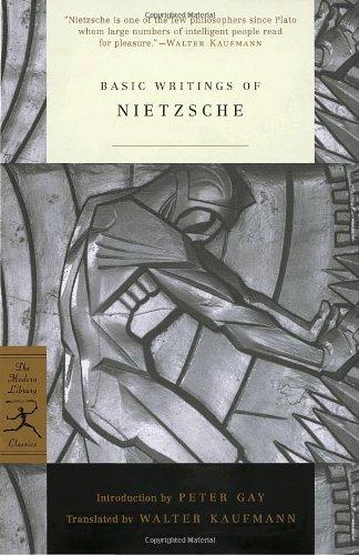 Basic Writings Of Nietzsche Modern Library Classics Harvard Book