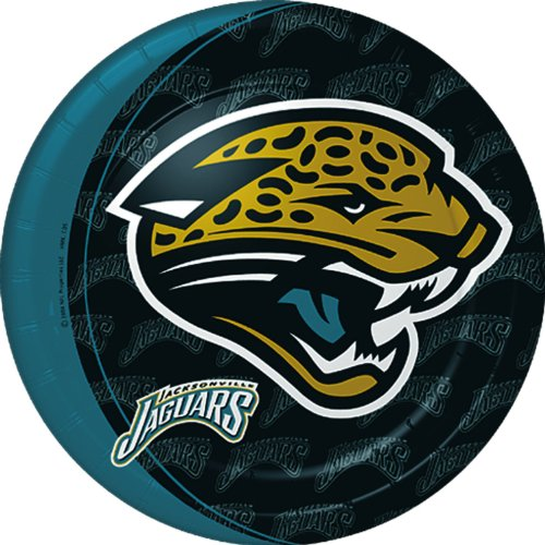 Hallmark Unisex Adult Jacksonville Jaguars Dinner Plates Black Medium