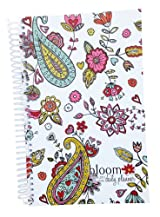 2013-2014 bloom Academic Year Daily Day Planner Fashion Organizer Agenda August 2013 Through July 2014 Hearts