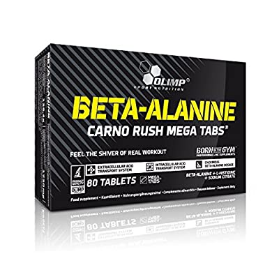 Olimp Beta Alanine Carno Rush (80 Caps) by Olimp Nutrition