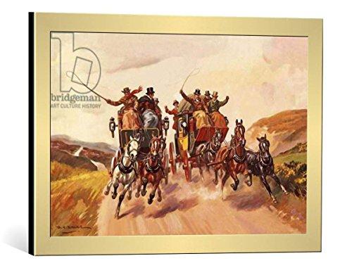 framed-art-print-derek-charles-eyles-race-between-stage-coaches-decorative-fine-art-poster-picture-w