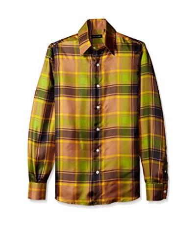 Valentino Garavani Men's Plaid Shirt