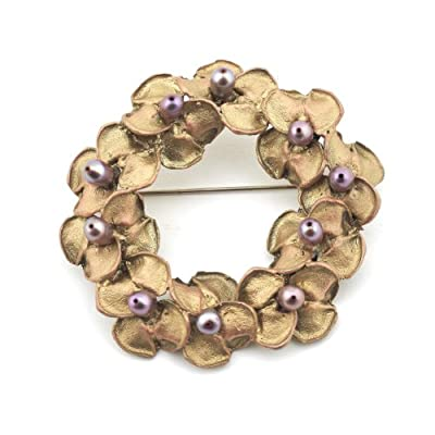 Pearl Jacinta Brooch by Michael Michaud