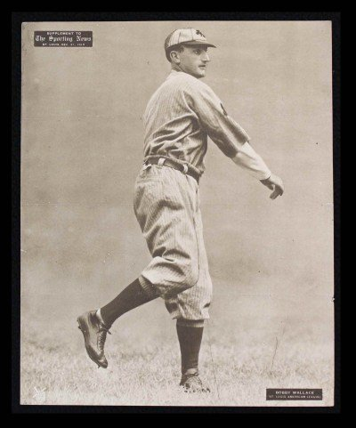 M101-2 Sporting News Supplements December 21 1910 Bobby Wallace Browns (Card) # 56 Dean'S Cards 5 - Ex