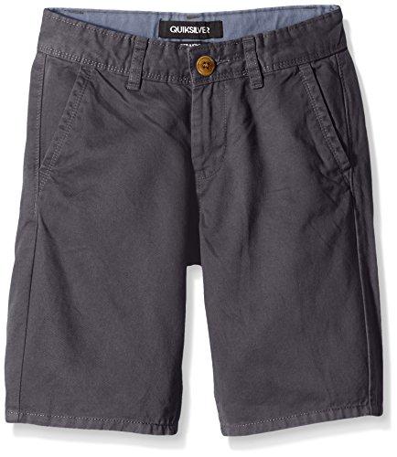 Quiksilver, Pantaloni corti Bambino Everchinshoaw B, Grigio (Dark Shadow), 12 anni