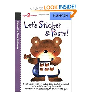 Let's Sticker &amp; Paste! (Kumon First Steps Workbooks)