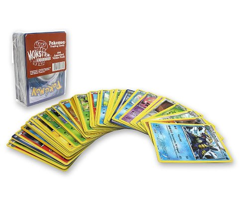 Monster-Protectors-Pokemon-Trading-Cards-Value-Pack-100-Assorted