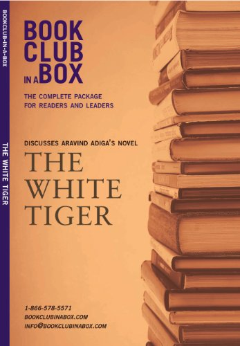 The White Tiger, the novel by Aravind Adiga, discussed by Bookclub-in-a-Box