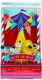 Party Partners Design Mini Cake Decor Kit, Big Top Circus