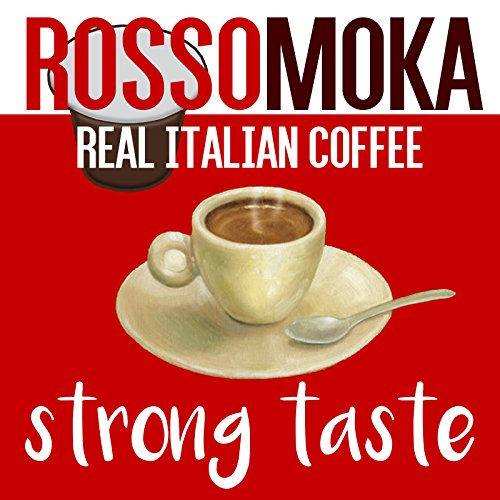 Find Rossomoka 100 Nespresso Compatible Capsules - Lungo Crema Intenso by Rossomoka