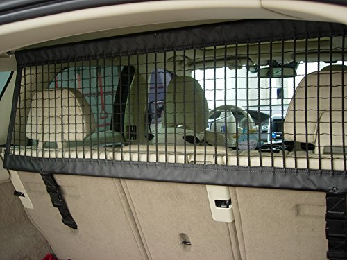 Juntu pet safety separation barrier cargo net for mercedes for Barrier mercedes benz