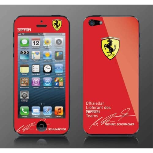 Red Ferrari Skin and Screen Protector For Iphone 5 *Not a Phone Case