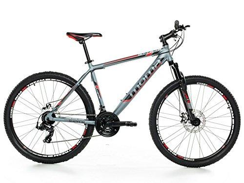 """Bicicletta Montagna Mountainbike 27,5"""" MTB SHIMANO, alluminio, doppio disco e sospensione"""