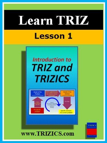 TRIZ Lesson 1