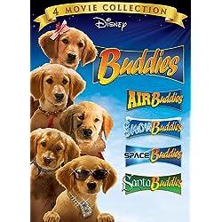 """[Disney] La Saga """"Air Bud"""" (2 films + 12 suites vidéos de 1997 à 2012) - Page 2 51htP3ZcVxL._SCLZZZZZZZ_AA250_Buddies-DVD-4Pack-Air-Buddies-Snow-Buddies-Space-Buddies-Santa-Buddies"""