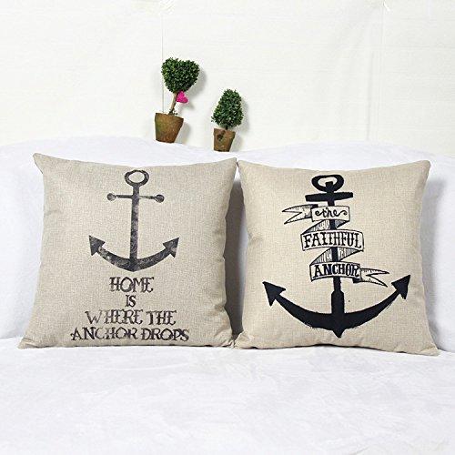 luxbon-set-2-pezzi-tema-nautico-mare-anchor-cuscino-cover-resistente-cotone-lino-throw-pillow-case-h