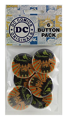 "Button set DC Comics Batman Batmobile Button (6-Piece), 1.25"" at Gotham City Store"