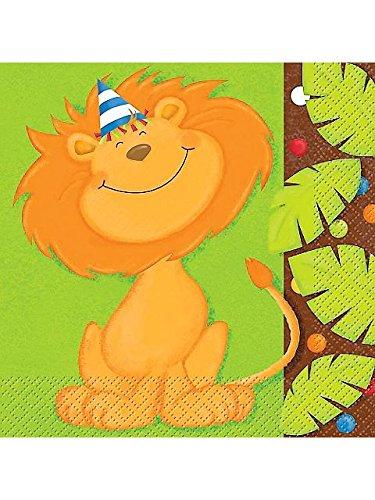 Jungle Birthday Luncheon Napkins (16-pack) - 1