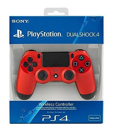 Sony - Mando DualShock 4, Color Rojo (PlayStation 4) [Importación Italiana]