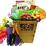 Sweet Gardening Pleasures Gift Basket - A Great Idea for Mom!