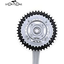 Alcoa Prime Mountain Bike MTB Bicycle Crankset Aluminum Alloy 24-34-42T Teeth Chainwheel Crankset Bicycle Crank...