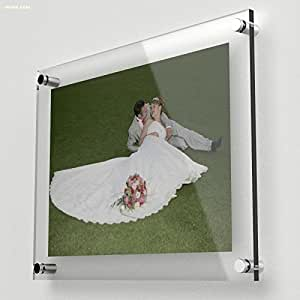 5 7 wall mounted acrylic photo frame picture - Porta poster plexiglass ...