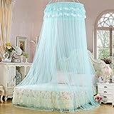 BAMINJI Mosquiteros de cama protección de cobertura total para el Holiday Home no Irritación de la piel orificio fino adapta a la cama tamaño Varios fiebre prevenir el dengue