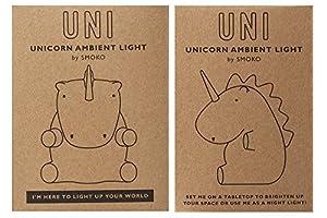 Uni the Unicorn LED Night Light in White Battery Operated