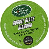 Green Mountain Coffee Double Black Diamond, K-Cup for Keurig Brewers, 24-Count (Pack of 2)