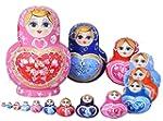 High-grade wooden nesting dolls - 15p...