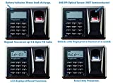 Viking Security Safe VS-14BL Top Opening Drawer Biometric Fingerprint LCD Keypad Safe
