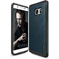 Ringke Flex S Series Coated Textured Leather Style Case for amsung Galaxy Note 7 - Deep Blue