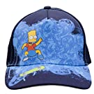 Childrens/Kids Boys Blue Bart Simpson Baseball Cap