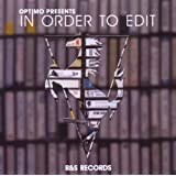 Optimo Presents In Order To Editby Optimo