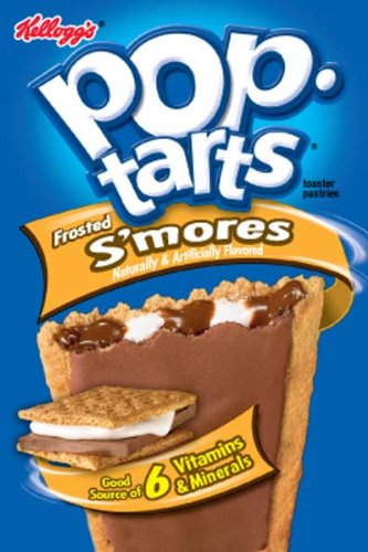 Kelloggs Pop Tarts - Individually Wrapped Pack of 2 - Smores