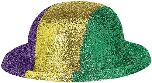 hat mini glitter derby