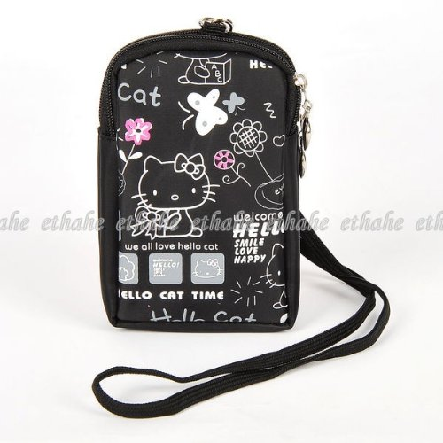 Hello Kitty Purse Cell Phone Camera Bag Tote