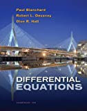 Student Solutions Manual for Blanchard/Devaney/Halls Differential Equations, 4th