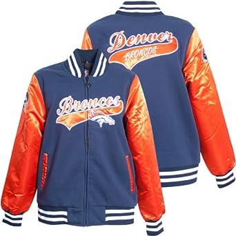 Ladies Denver Broncos NFL Sweetheart Jacket by MTC Marketing