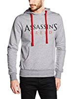 ICONIC COLLECTION - ASSASSINS CREED Sudadera con Capucha Syndicate - Logo (Gris Claro)