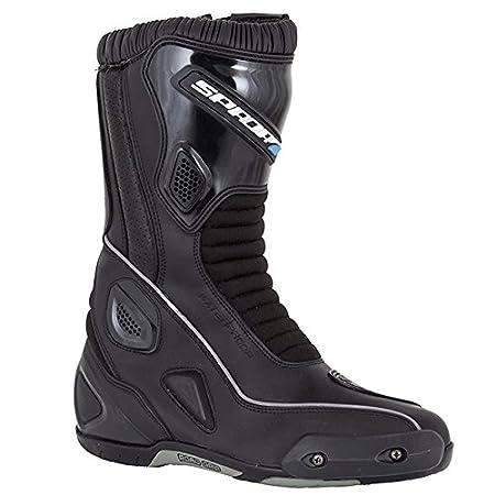 Moto Spada druide WP bottes noir