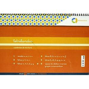 Letrilandia Lectoescritura cuaderno 6 de escritura