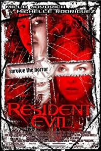 Resident Evil Reg Original 27x40 Double Sided Movie Poster