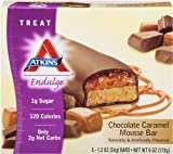 Atkins Endulge Chocolate Caramel Mousse Treat Bar, 5 Count Bars